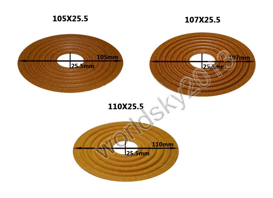 35.5//49.5mm Core Audio Speaker Spider Speaker Damper Woofer Repair Part Φ138-150