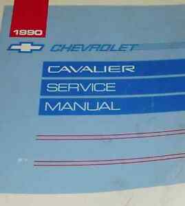 1990-GM-Chevy-Chevrolet-Cavalier-Service-Shop-Repair-Workshop-Manual-OEM-Factory