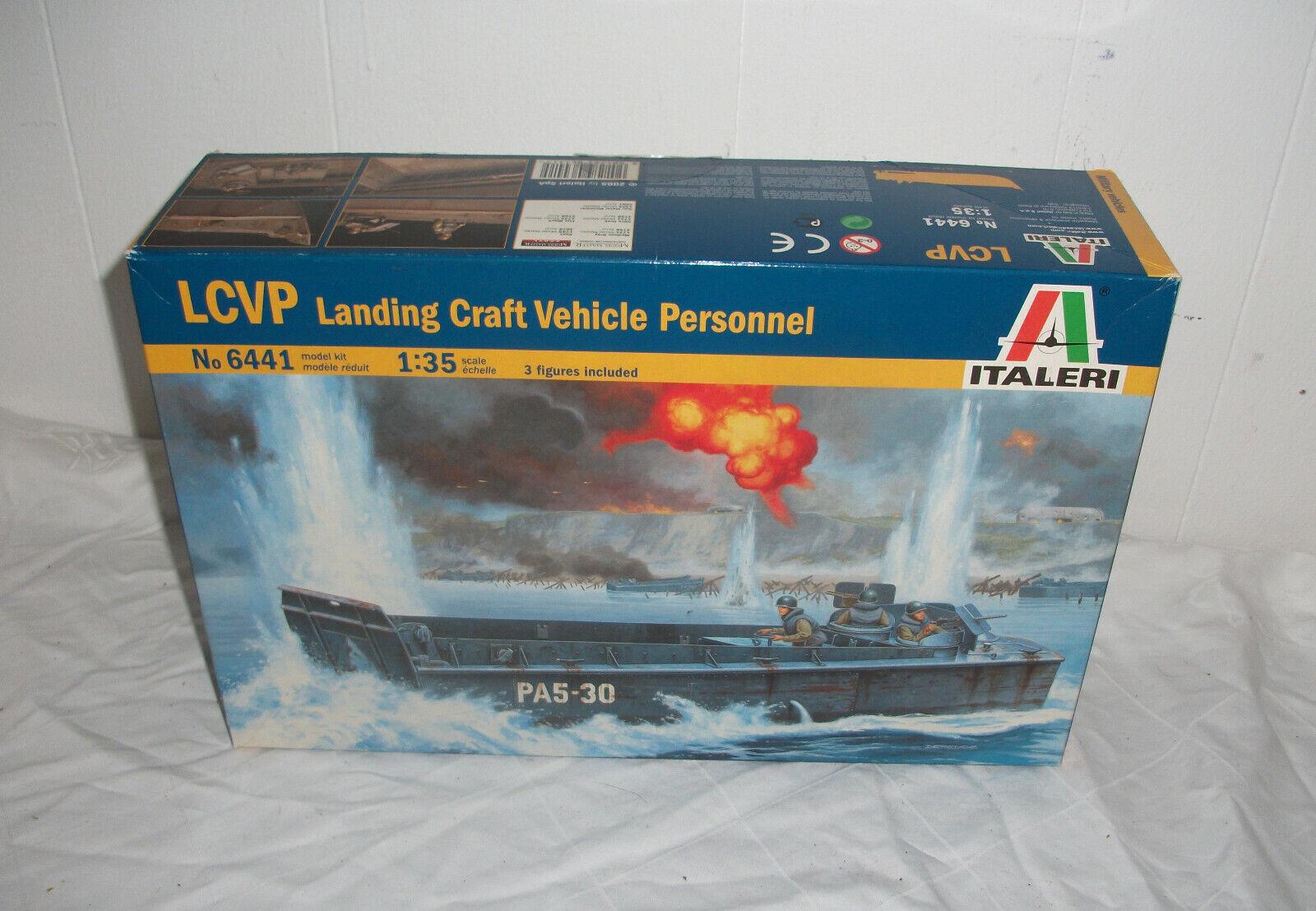 Italeri LandungsStiefel LCVP  6441. Bausatz 1  35.