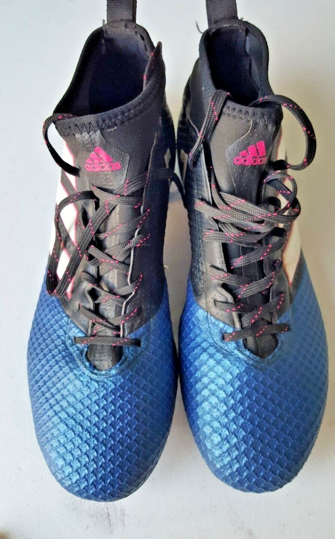 Rare Adidas Baseball Soccer Cleats 698001 Pink bluee Size 8.5 Mens