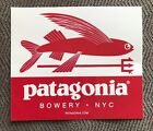 Bowery NYC Patagonia FLYING FISH Surf Store Decal classic sticker VERY RARE!!