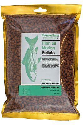 Cordiale Olio Di Salmone Marino Di Alta Marine Pellet Per Pesca Carpa & Basso 5mm- Squisita Arte Tradizionale Del Ricamo