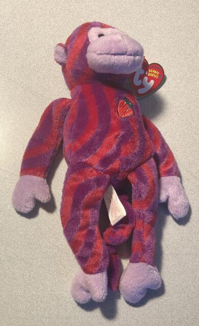 TY Beanie Baby - TWISTY the Monkey (Walgreen's Exclusive) (9.5 inch) - MWMTs