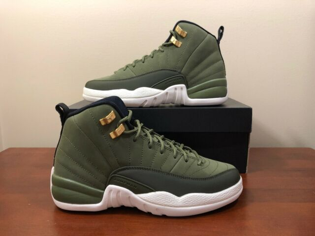 buy popular 4f259 eedf6 Nike Air Jordan 12 Retro Chris Paul Class Of 2003 Olive Green 153265 301 SZ  6Y🔥