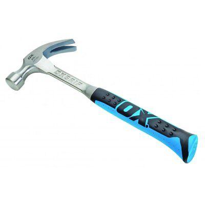 OX Tools 16oz Pro Claw Hammer Durable & Light Fiberglass