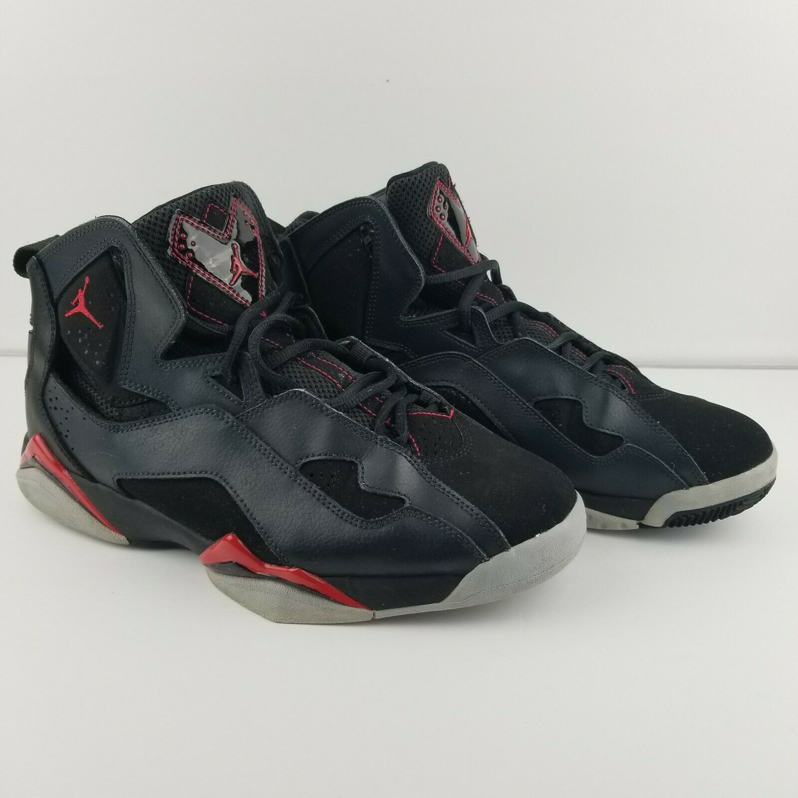 a0de4c749efe12 Nike Air Jordan Jordan Jordan True Flight Black Gym Red-Anthracite 342964-002  Size