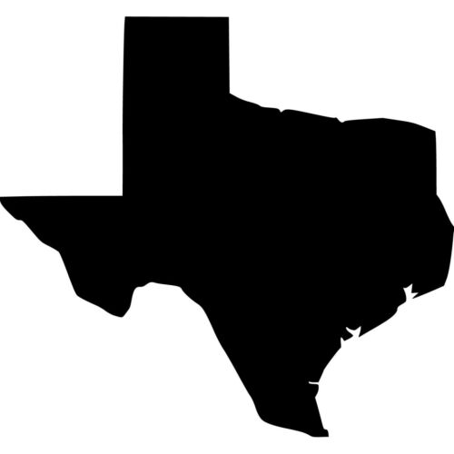 Choose Size /& Color Texas Vinyl Sticker Decal State Lone Star