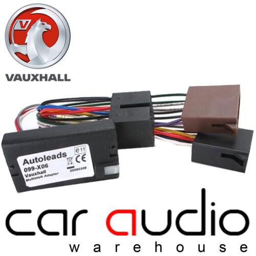 PC99-X06 KENWOOD Vauxhall Signum 2004 On Steering Wheel Interface Adaptor Lead