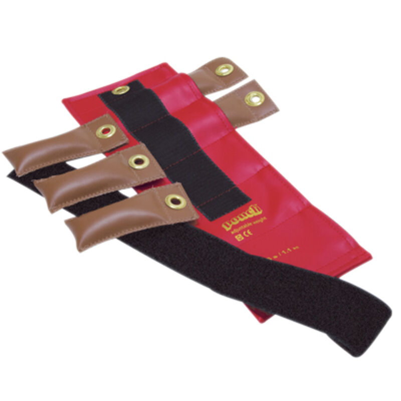 Pouch Variable Wrist & Ankle Weight-2.5 lb, 5 x  0.5 lb inserts-Red- 10-0300 NEW  for sale online