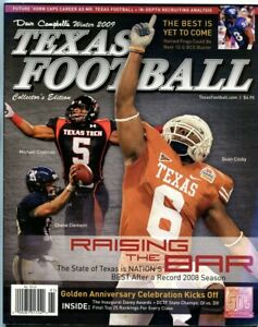 2009-Dave-Campbell-039-s-Texas-Football-Winter-Edition-Texas-Longhorns-Quan-Cosby
