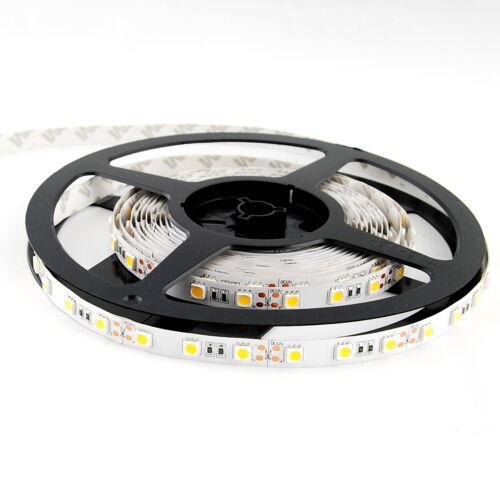 12V ABI 300 LED Strip Light Kit w// Power Supply 5M Cool White 6000K SMD 5050