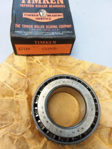 Timken Tapered Cone Bearing 17118