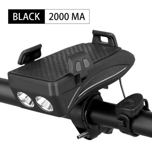 Multi Function 4in1 Bike Flashlight Adjustable Original Quality Light Powerbank