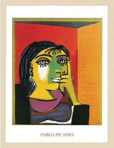 Picasso Pablo Dora Maar Painting Print Size 60x80 Art Print Artprint