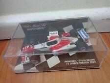 MINICHAMPS 400 040186 Panasonic Toyota Racing F1 model car Launch version 1:43rd
