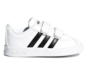 Adidas-DB1839-Bianco-Dal-20-al-27-Sneakers-Con-Strappo-Scarpe-Bambino-Ginnastica