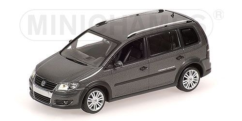 Volkswagen Cross Touran blu 2006 1 43 Model Minichamps