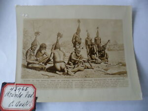 OLD-EARLY-PHOTO-AUSTRALIAN-ABORIGINAL-MEN-ARUNTA-TRIBE-AUSTRALIA-MAGIC-RITUAL
