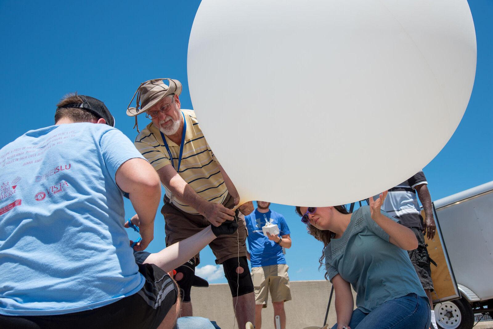 TAILLE éNORME 27 FT (environ 8.23 m) ballon météo