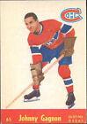 1955 - 1956 Parkhurst Johnny Gagnon #65 Hockey Card