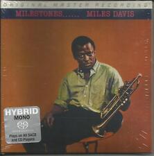 Milestones - Miles Davis - Hybrid SACD, Limited Edition - Mfsl - Neu !!!