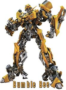 Transformer BumbleBee 5X7 T-shirt Iron on transfer