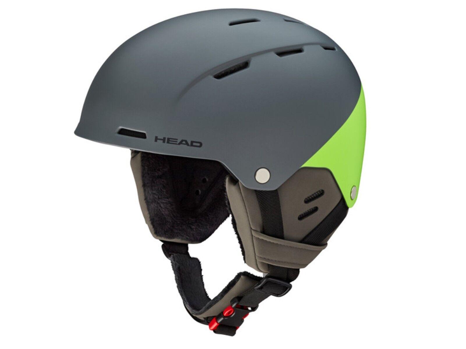 Ski helmet head 324828 Trex grau Grün