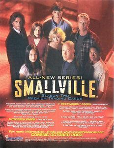 Smallville-Season-2-Trading-Card-Binder-with-Sell-Sheet