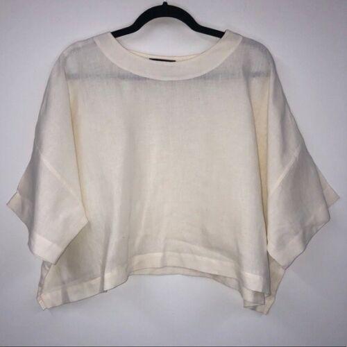 Eskandar 100% Linen Oversized Lagenlook Shirt