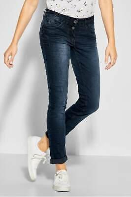CECIL 372452 SCARLETT Denim Jeans SL32 Loose Fit blueblack used wash Damen | eBay