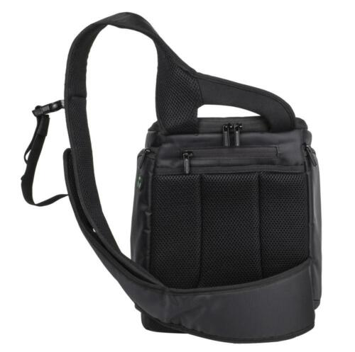 Rivacase 7470 funda protectora bolso Bag en negro para Panasonic Lumix dc-g9