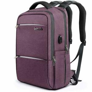 Inateck-Laptop-Backpack-with-USB-Charging-Port-School-Bag-Fit-for-15-6-039-039-Laptop