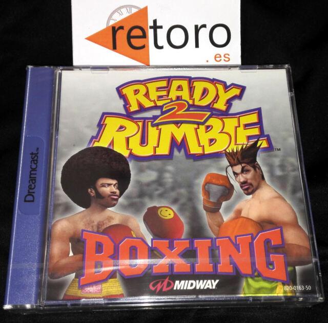 READY TO 2 RUMBLE BOXING Sega Dreamcast PAL Español Midway NUEVO Precintado SEAL
