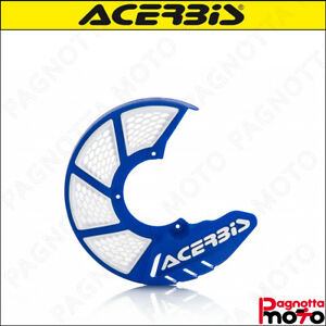 COPRIDISCO PROTEZIONE DISCO ACERBIS X BRAKE 2.0 245 MM FRONT DISC BLU BIANCO