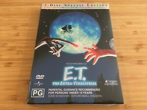 E-T-2-Disc-Special-Edition-DVD-Region-4-Brand-New-amp-Sealed-Free-Postage