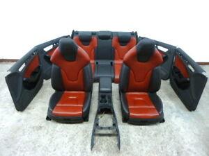 Audi-S4-8K-B8-Lederausstattung-Leder-Sport-Sitze-Schwarz-Rot-interior-A4-RS4