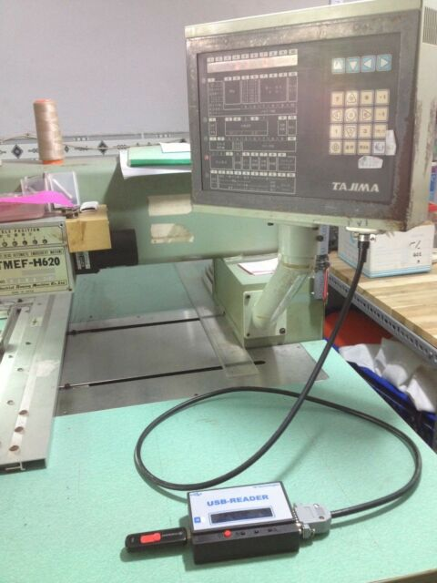 USB READER for Tajima embroidery machine TMFX, TMEX, TMEG, TME-DC, TMEF, TMEF-H