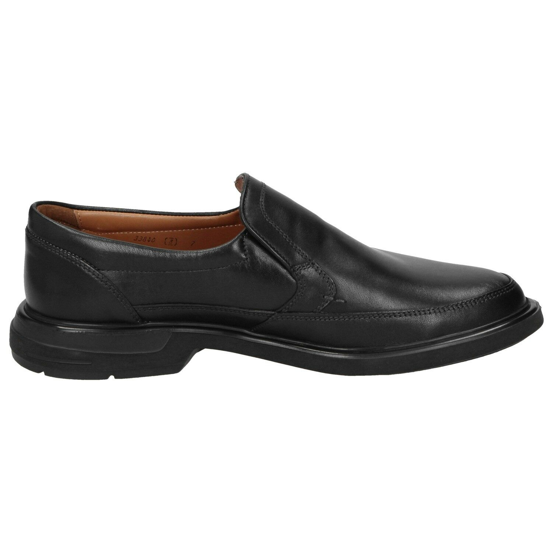 Sioux Herrenschuhe Pujol-XL Slipper 33840 schwarz schwarz schwarz Halbschuhe NEU 0e57cf