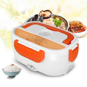 Portable-Electric-Heated-Heating-Lunch-Box-Bento-Food-Warmer-EU-US-Car-Plug-12V