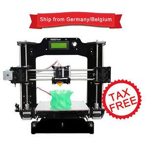 Duty-Free-Reprap-Stampante-3D-Stampa-6-filament-Prusa-i3-X-MK8-LCD-Control
