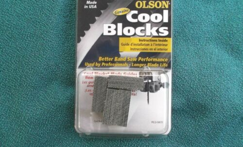 GENUINE OLSON COOL BLOCKS FOR DELTA BS220LS TYPE 1 BAND SAW
