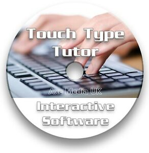 Touch Typ Tutor-Learn to Type/Touch Typ-Training Software CD