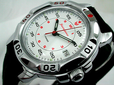 RUSSIAN  VOSTOK MILITARY KOMANDIRSKIE WATCH  #431171  NEW