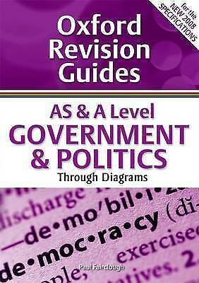 1 of 1 - As & a Level Government & Politics (Oxford Revision Guides)-ExLibrary