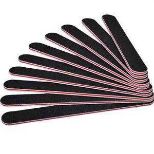 NE-10PCS-Nail-Art-Black-Sanding-File-Buffer-For-Salon-Manicure-Polisher-Tool-Si