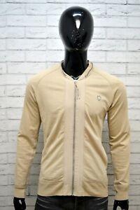 Felpa-Cardigan-Uomo-LEVI-039-S-Taglia-XXL-Pullover-Sweater-Man-Grey-Maglione-Casual