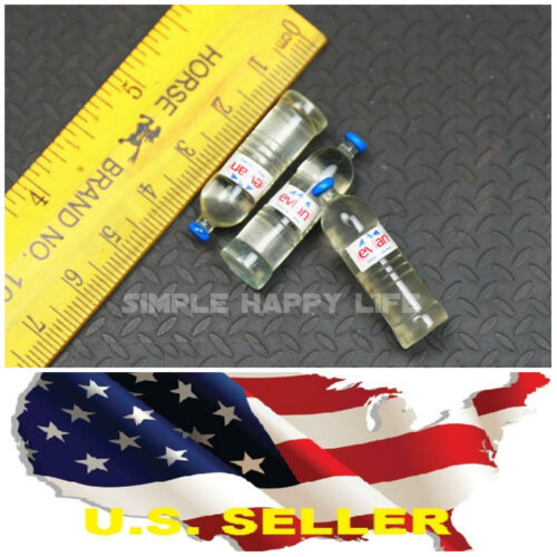 4 bottle 1//6 scale spring water Dollhouse Miniature Bar Drink Decor Hot Toys USA
