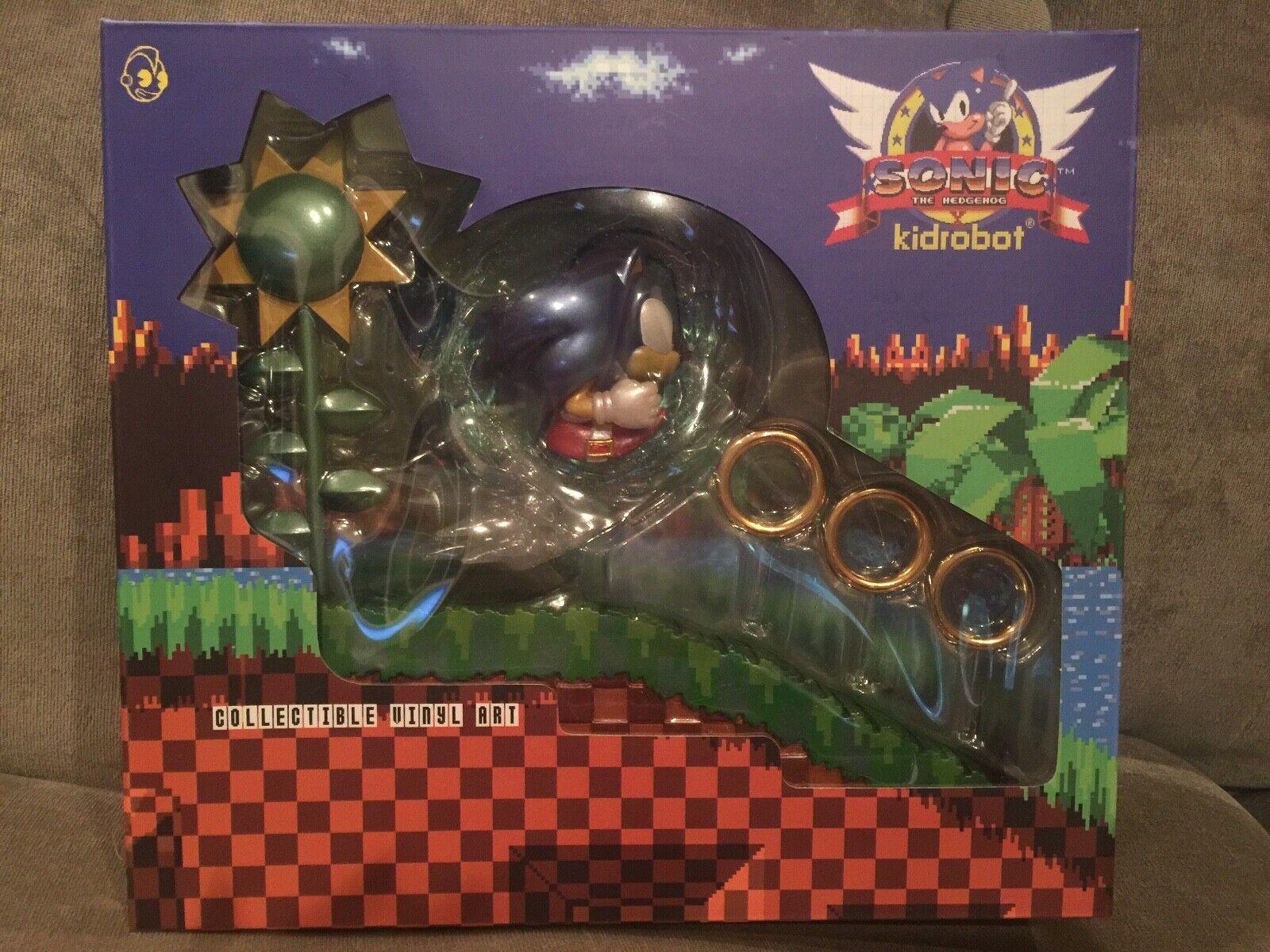 Kidrobot X Sega Sonic The Hedgehog Metálico verde Hill medio Vinilo Figura LE200