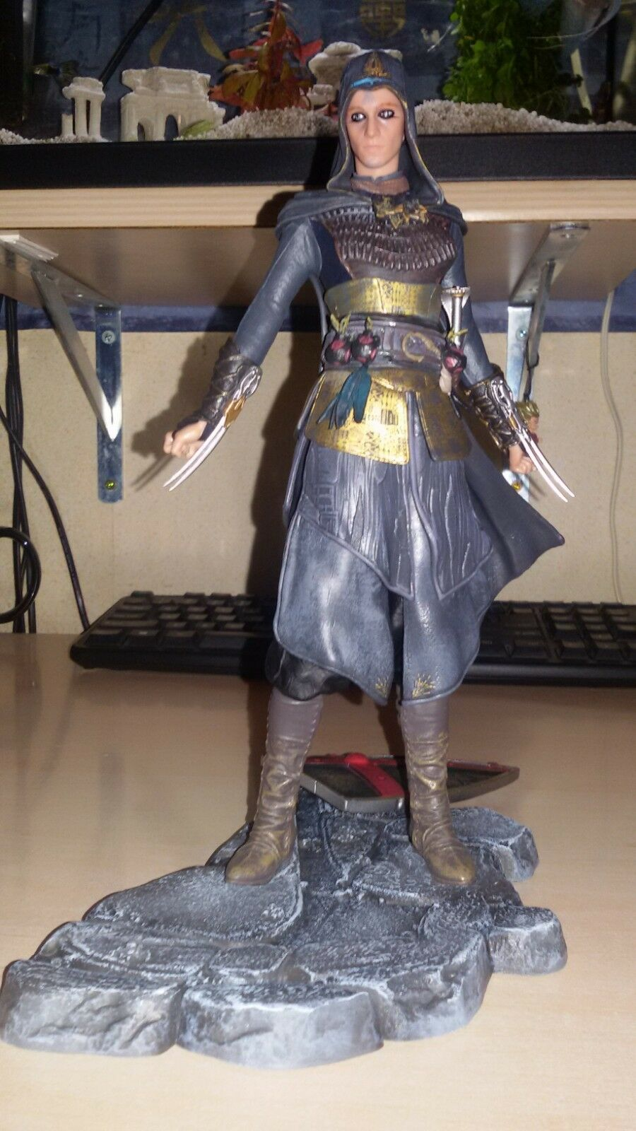 ASSASSINS ASSASSIN'S ASSASSIN'S ASSASSIN'S CREED MOVIE - MARIA FIGURINE 23 cm dd37de