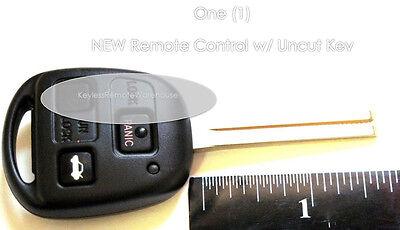 Keyless Entry Remote Car Uncut Long Blade Key Fob Shell Case for Lexus HYQ1512V